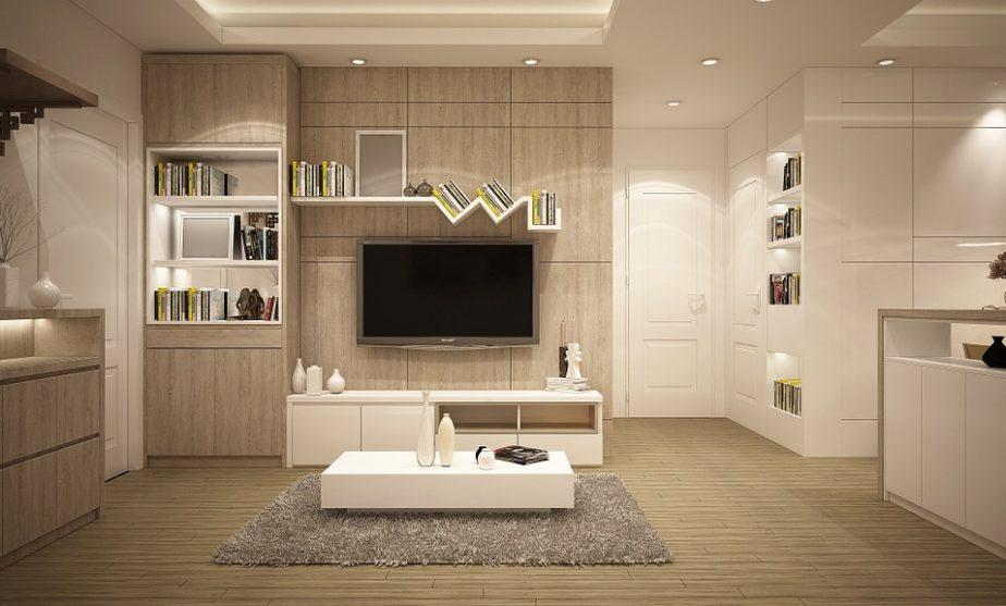 Progettare una parete attrezzata in soggiorno