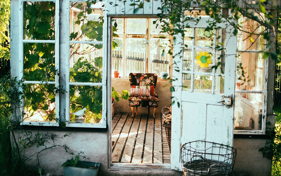 Salotto da giardino un angolo di pace