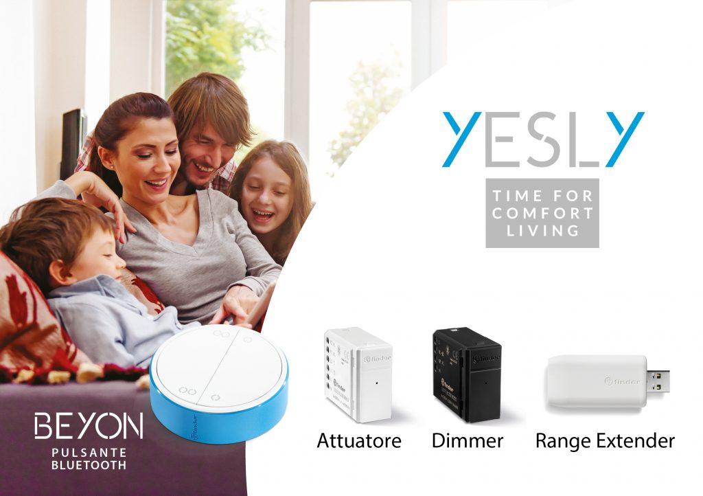 Yesly, il sistema di vivere la casa