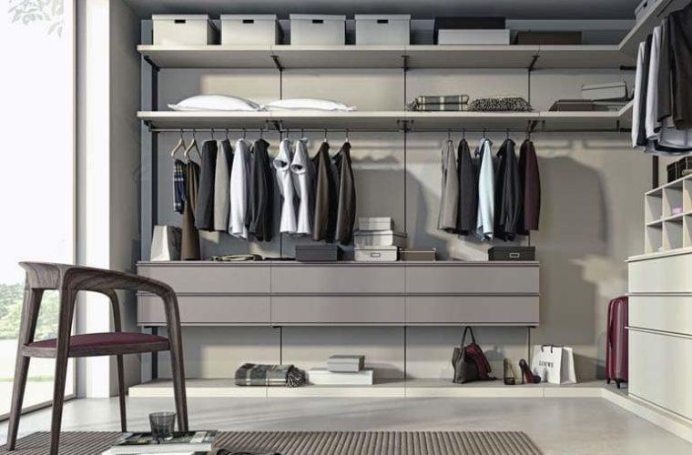 Progettare cabina armadio camera da letto