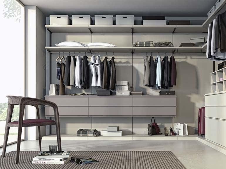 5 idee per progettare una camera da letto con cabina armadio